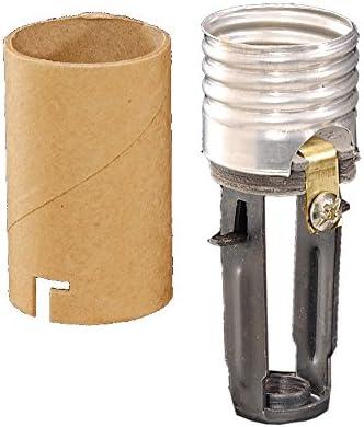 "4/"" to 6/"" Tall ~ ADJUSTABLE KEYLESS ~ E26 Medium Base Light Bulb Lamp Socket"