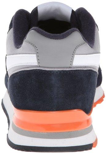 Reebok Mens Reebok Royal Uppdrag Klassiska Sneaker Marin / Grå / Vit / Orange / Royal