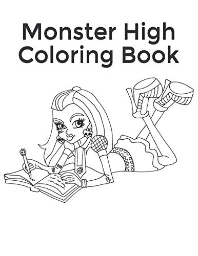 Monster High Coloring Book: Collection of 75 Monster High Characters -