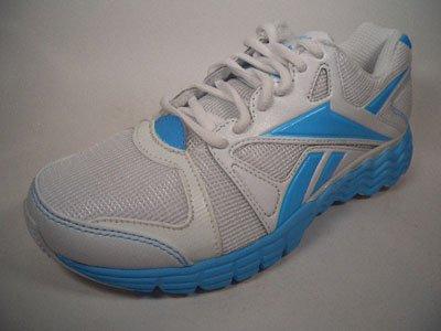 Reebok, Scarpe indoor multisport donna Bianco Weiß-Blau 37.5
