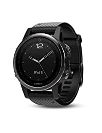 Garmin Fenix 5S Reloj GPS multideporte Zafiro 42mm Negro/Negro