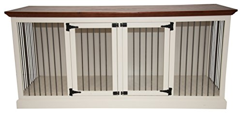 - Eagle Furniture Manufacturing K9LD-403187-IVCR K9 Crate, European Ivory