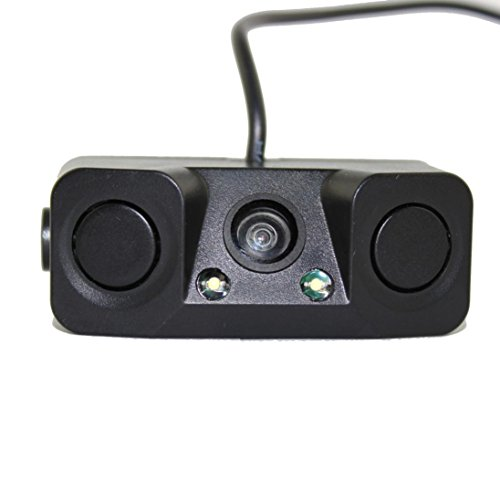 Waterproof Mini Wide Angle HD CCD Car Rear View Camera - 6