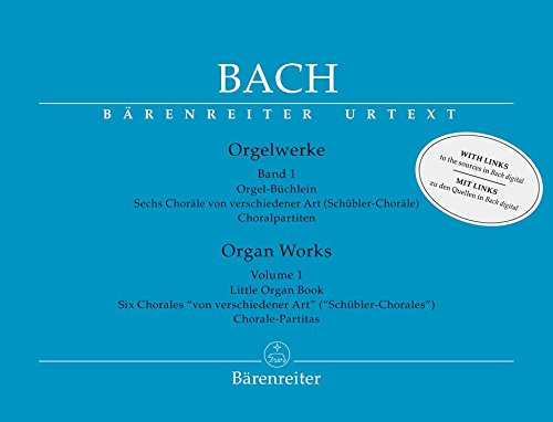(Bach: Organ Works - Volume 1)