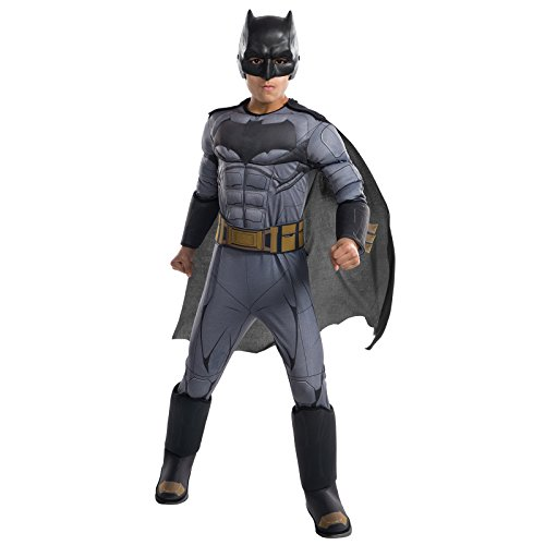 Rubie's Costume Boys Justice League Deluxe Batman Costume, Small, -
