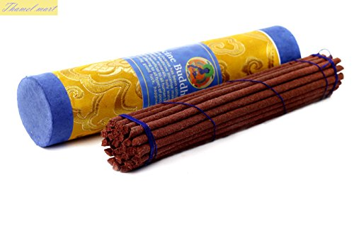 Medicine Buddha Tibetan Incense Sticks - Spiritual & Medicinal Relaxation - More effective than Potpourris & Scented Oils