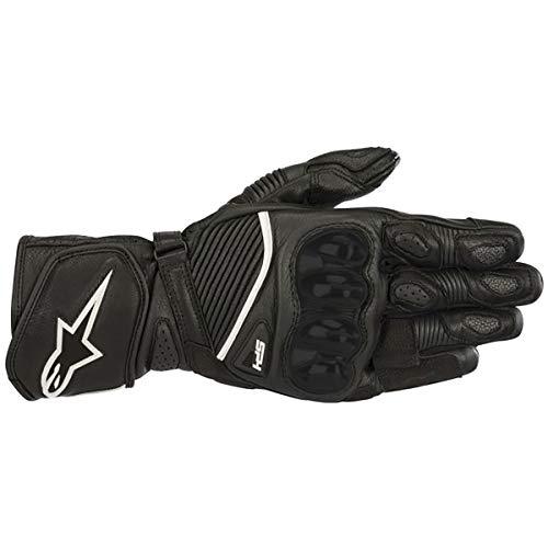Alpinestars Smx 1 Riding Motorcycle - Alpinestars SP-1 V2 Leather Motorcycle Riding/Racing Glove (Medium, Black)