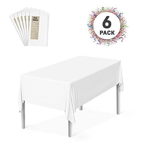 Zoe Deco Plastic Tablecloth, 54
