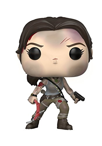 Funko Pop Games: Tomb Raider-Lara Croft, Multicolor