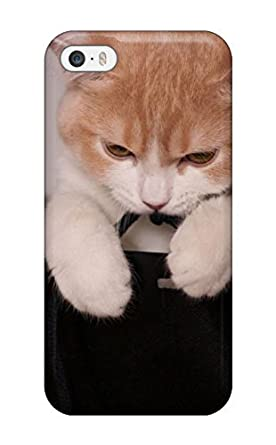 699ae295c2df0c FONY Awesome IOBbypg598emNxL AMGake Defender pc Hard Case Cover For Iphone 5  5s- Cat In Gift Bags  Amazon.co.uk  Electronics