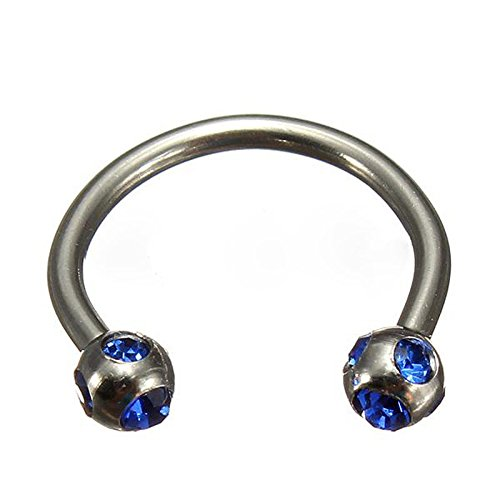 Crystal Surgical Piercing Horseshoe Nipple product image