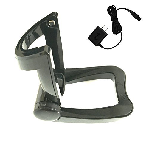 MR SHAVE Replacement Folding Charger Stand+Power Cord for Replacing Norelco RQ1100 Series SensoTouch Shavers