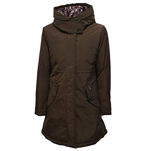 Marrone Green Woolrich Piumino Bimba Dark 6080x Girl Parka Eskimo Jacket zw0rHqxznC