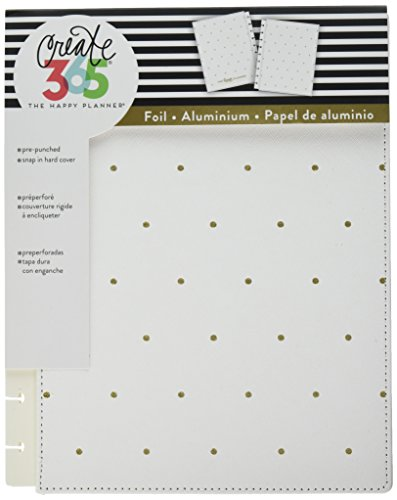 (me & my BIG ideas  COLC-07 Create 365 The Happy Planner Classic Snap In Cover, Hard White)