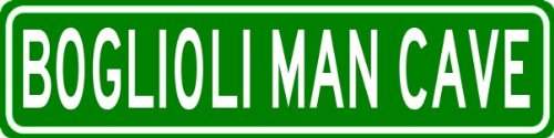 boglioli-man-cave-personalized-last-name-street-sign-heavy-duty-9x36-quality-aluminum-sign