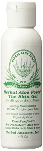 Herbal Answers Whole Raw Aloe Vera Skin Gel 4 fl. oz