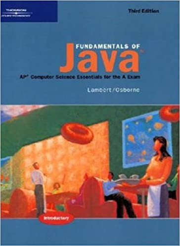 Fundamentals of java ap computer science essentials for the a fundamentals of java ap computer science essentials for the a exam 3rd edition fandeluxe Choice Image