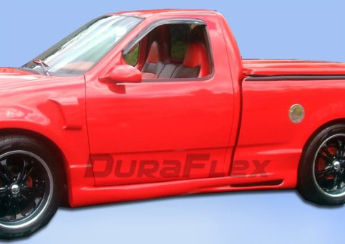 Duraflex Replacement for 1997-2003 Ford F-150 2DR Extended Cab Platinum Side Skirts Rocker Panels - 4 Piece