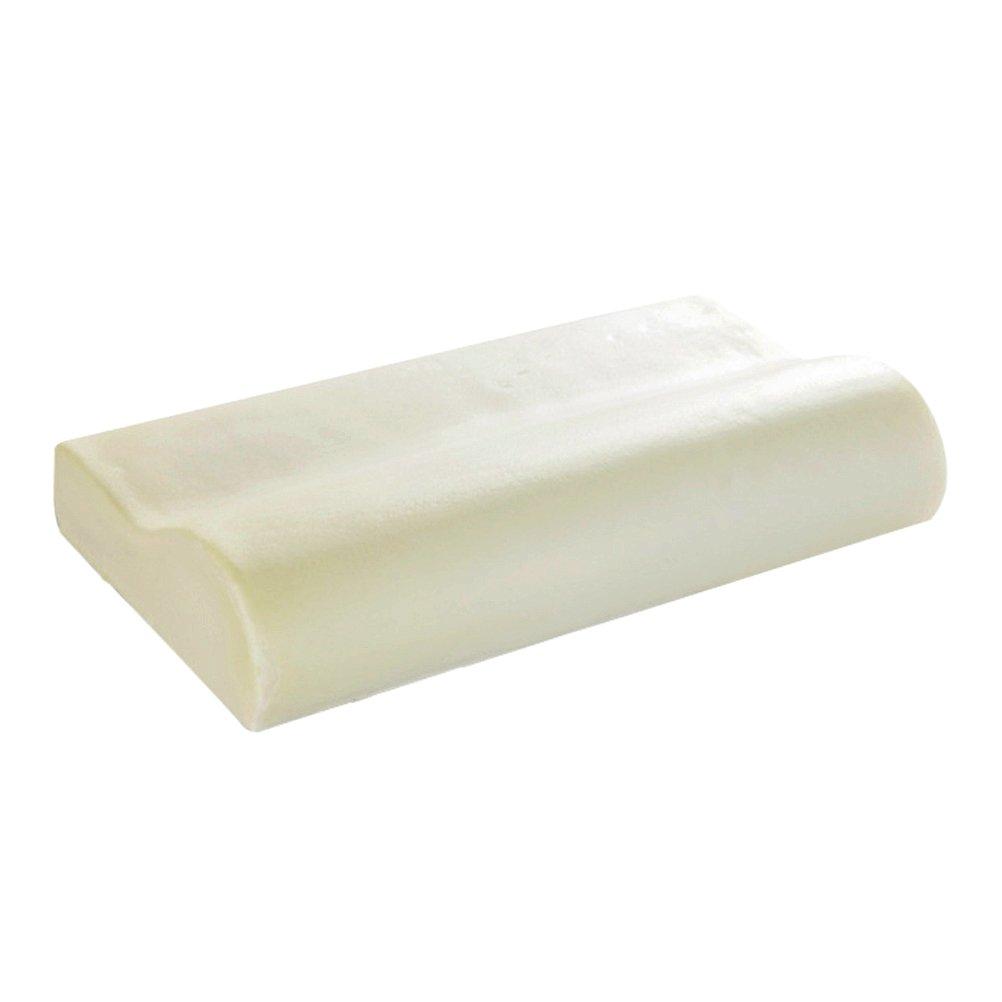 ROSENICE Memory Pillow Slow Rise Sleep Innovations Contour Bedroom Sleep Head Neck Back Support 50*30CM (White)