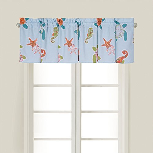 15.5x72 Inches, St. Kitts Valance (Beachy Treatments Window)