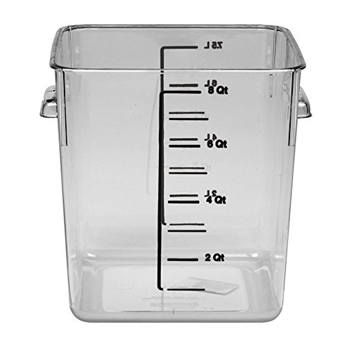 Rubbermaid Commercial Products Plastic Space Saving Square