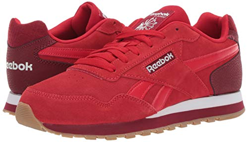 f812b803e28e0 Reebok Men's Classic Harman Run Sneaker, Stadium Triathlon red/White/Gum,  12.5 M US