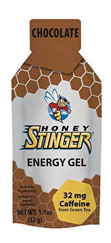 (Honey Stinger Organic Energy Gels Chocolate Naturally Caffeinated, 1.1 Ounce)