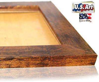 US Art 19x27 Elegant Custom made Bronze Picture Poster Frame Mdf 1.5 inch wide Moulding #B1.5