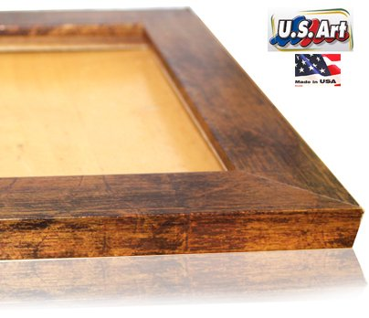 US Art 16x20 Elegant Custom made Bronze Picture Poster Frame Mdf 1.5 inch wide Moulding #B1.5 by US Art