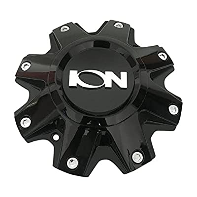 Ion Wheels C10141C C10141B Gloss Black Wheel Center Cap: Automotive