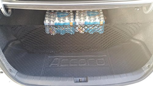 Envelope Style Trunk Cargo Net for Honda Accord Sedan 4-Door 2013 14 15 16 17 - Cargo Net Accord