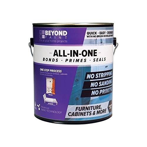 Beyond Paint Furniture, Cabinets and More All-in-one Refinishing Paint Gallon, No Stripping, Sanding or Priming Needed, Soft Gray
