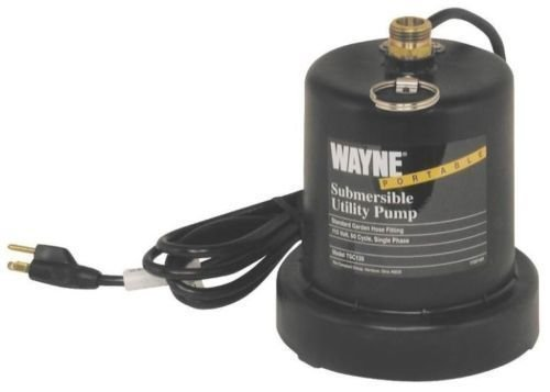 NEW WAYNE TSC130 1/4 HP SUBMERSIBLE UTILITY WATER PUMP 6909923#from__goodplace2shop GERHJT336090