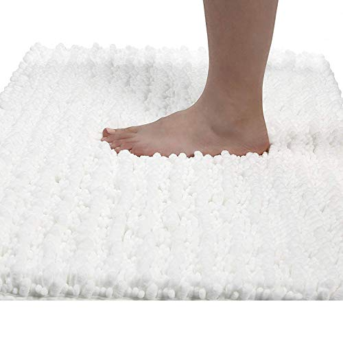 Yimobra Original Luxury Chenille Bath Mat, 31.5 X 19.8 Inches, Soft Shaggy and Comfortable, Large Size, Super Absorbent…