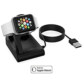 dodocool [MFi Certified] Apple Watch Charger Apple Watch Stand Foldable Magnetic Charging Dock, Nightstand Mode for 38mm/42mm Apple Watch,3ft Cable