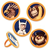 Where the Wild Things Are Party Cupcake Rings 12 Pack