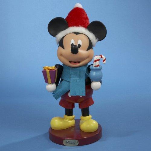 Disney Kurt S. Adler 11-Inch Wooden Mickey Mouse Nutcracker.