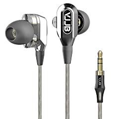 Dual Dynamic Drivers with High Quality Sound Suitable for Musicians and Music Lovers Alike Customized Dual Units GranVela V1 uses magnetic neodymium iron boron magnets, equipped with two 6.0 MM high performance dynamic driver systems for high...