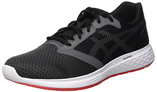 Patriot 10 Laufschuhe Dark Grau Asics Herren Red Grey Alert 021 wPgqHU