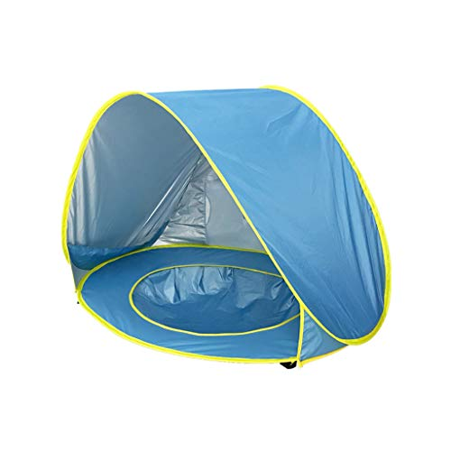 UMFun Baby Beach Tent Up Portable Shade Pool UV Protection Sun Shelter for Infant -