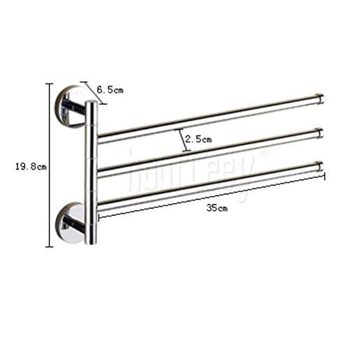 70%OFF Golden activity Towel Bar/bathroom Towel rack/Bathroom rotating brass Towel rack/Towel Bar-D