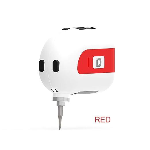 MQUPIN Mini destornillador eléctrico inteligente, juego de ...