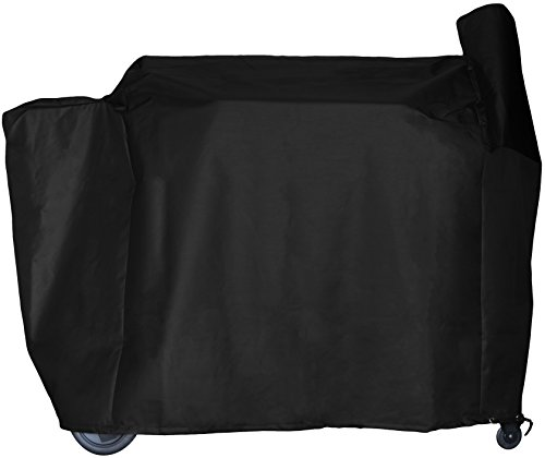 Duty Heavy Wheel Cover Canvas (BBQ Butler All Weather Pellet Grill Smoker Cover - Heavy-Duty - Full Length - Large)