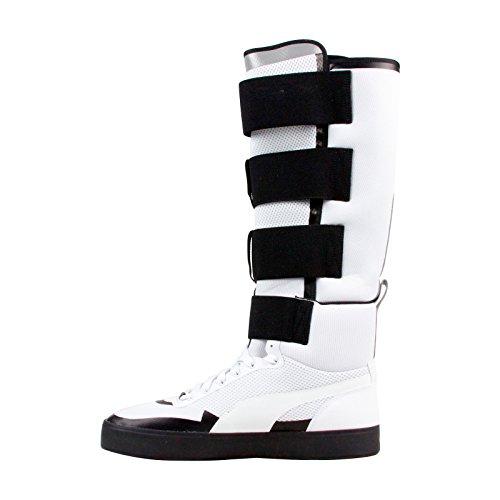 PUMA Court Play X UEG Mens White Mesh Strap Boots Shoes WojKNm