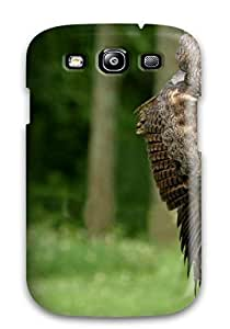 [TPUFJdX1172JMizH] - New A Brown Owl On A Stump Protective Galaxy S3 Classic Hardshell Case