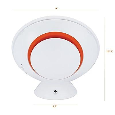 Circadian Optics Lampu Light Therapy Lamp | Ultra Bright 10,000 Lux Full Spectrum LED Light [Designer Series]