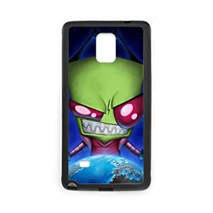 Fayruz- Personalized Alien Invader Zim Gir Protective Hard Rubber Phone Case for Samsung Galaxy Note 4 Note4 Cover I-N4O109
