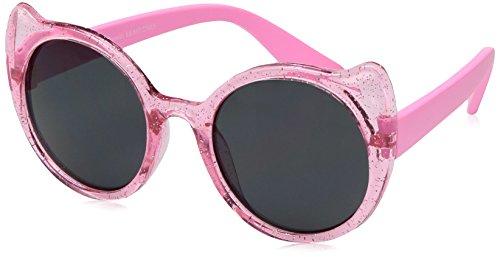 Carter's Baby Carter's Girl Sunglasses Cat Eye Shape, Neon Pink, - Baby Sunglasses Girl