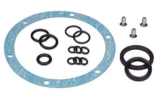 Seastar HS5176 Aftermarket Helm Seal Kit - Sea Star Hydraulic Steering Kit for Boat Helm for HH5271 & More by Kit King Teleflex HC5345 Boats (Motor Outboard Rack)