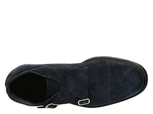 Blu Ventura Polacchini DIJONE T Blu Scamosciato Fibbie Pelle 248 Codice Andrea in Modello 74wpqfra7